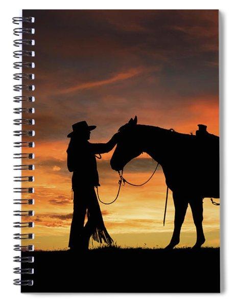 A Girl's Best Friend Spiral Notebook