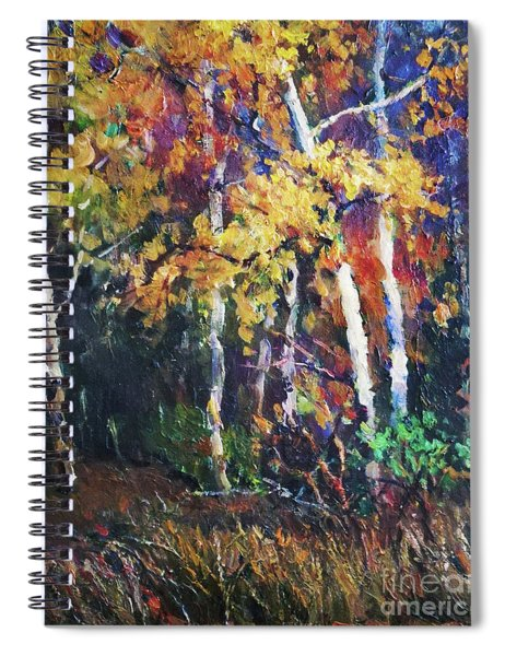 A Glance Of The Woods Spiral Notebook