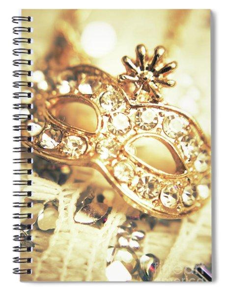 A Golden Occasion Spiral Notebook