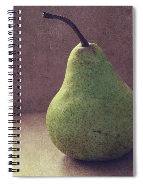 A Green Pear- Art By Linda Woods Spiral Notebook