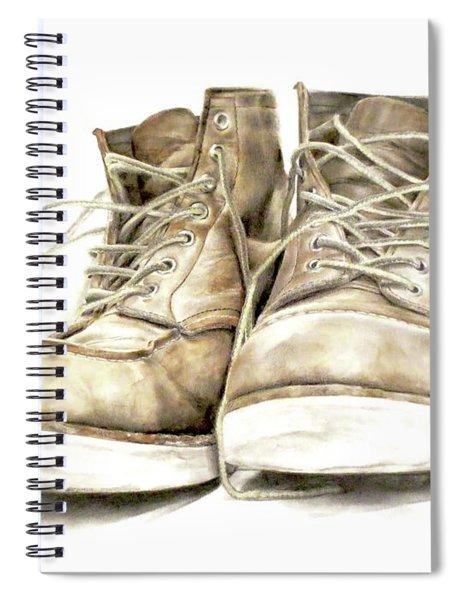 A Hard Day's Work Spiral Notebook