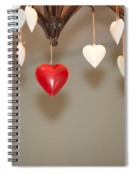 A Heart Among Hearts I Spiral Notebook