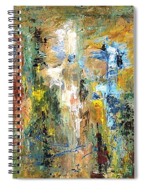 A Herd Of Five Spiral Notebook