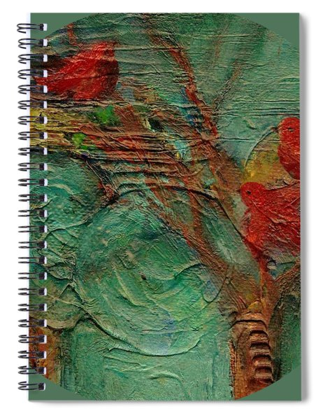 A Home In The Woods Spiral Notebook