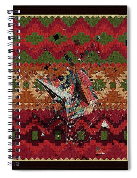 A La Kandinsky C1922 Spiral Notebook