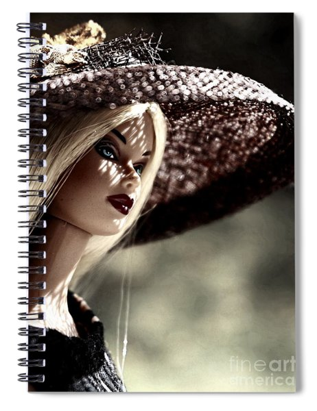 A Lady At The Derby Spiral Notebook