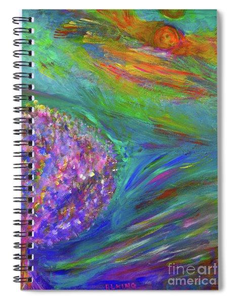 A Leap Of Faith Spiral Notebook