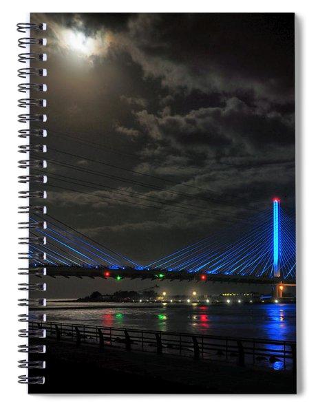 A Light From Above Spiral Notebook