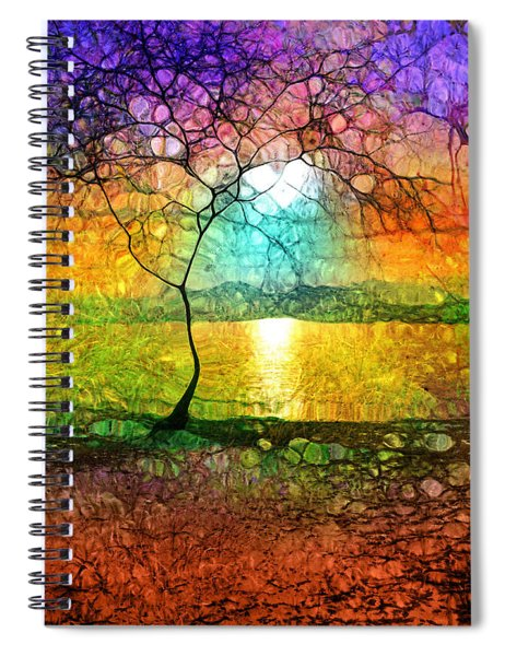A Light Like Love Spiral Notebook