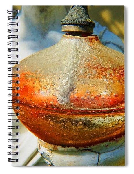 A Light Of Love Spiral Notebook