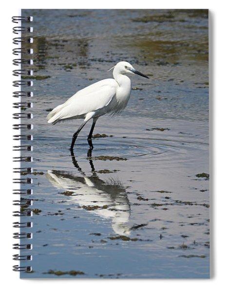 A Little Egret Spiral Notebook