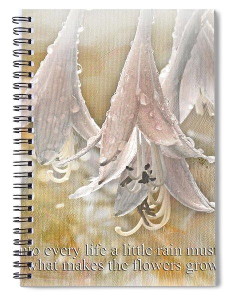A Little Rain Spiral Notebook