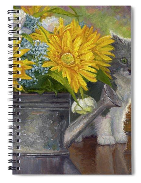 A Little Shy Spiral Notebook