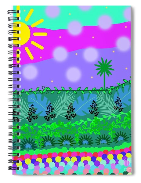 A Little Whimsy Spiral Notebook