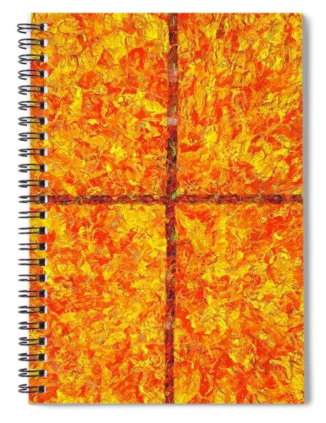 A Living God Spiral Notebook