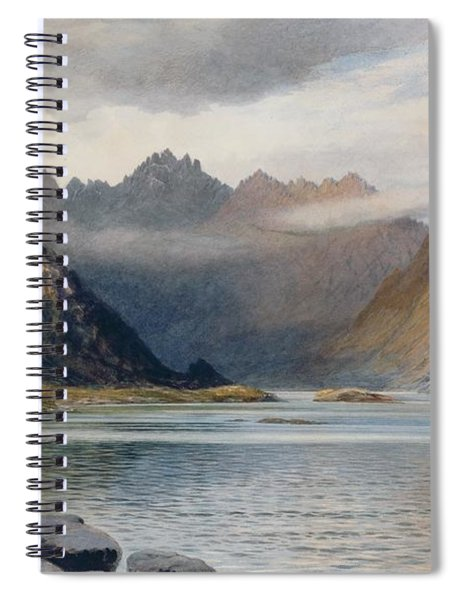A Loch North Of Hadrian's Wall Spiral Notebook