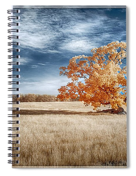 A Lone Tree Spiral Notebook