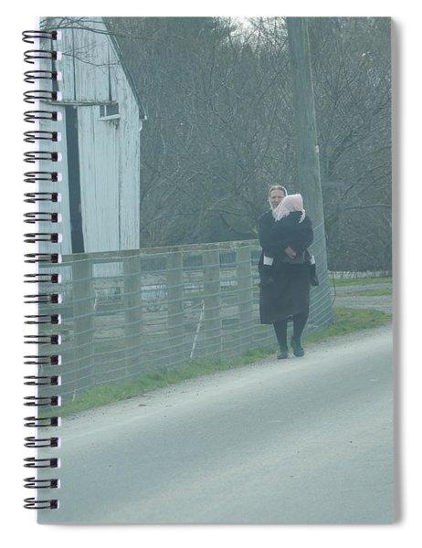 A Long Day Spiral Notebook