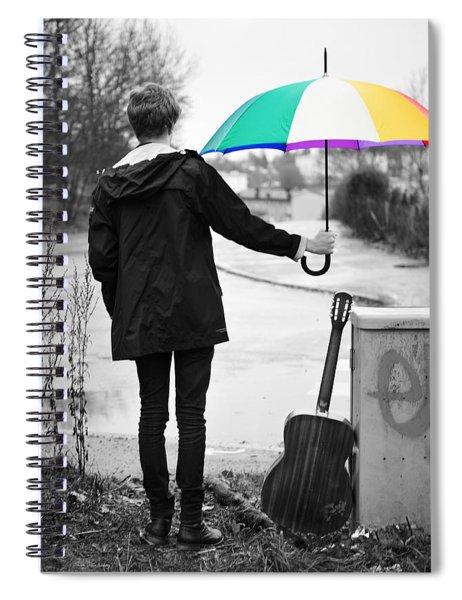 A Man's Best Friend Spiral Notebook