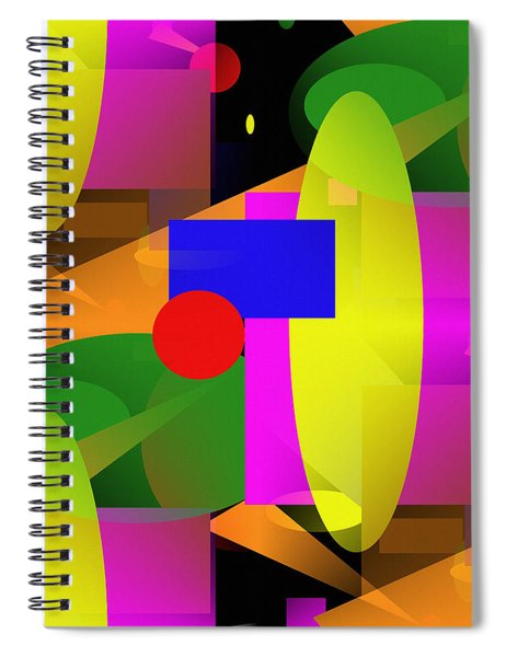 A Matter Of Perspective - Series Spiral Notebook