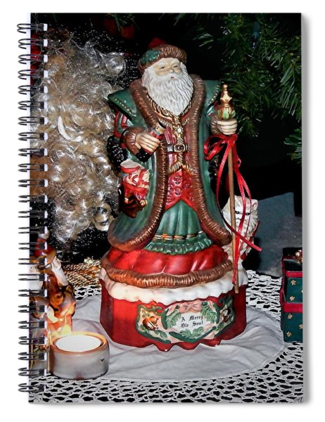 A Merry Old Soul Spiral Notebook