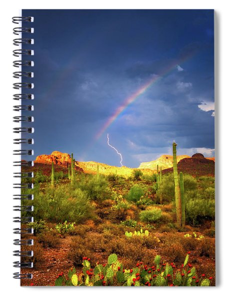 A Miracle Of Timing Spiral Notebook