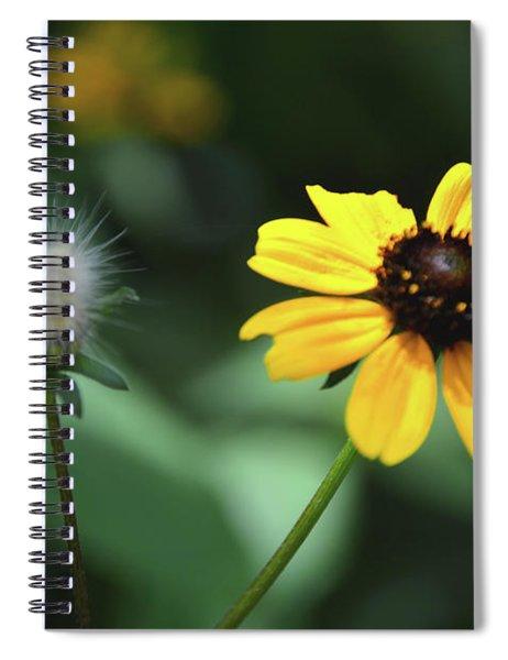 A Moment In The Sun-butterfly Garden Series Spiral Notebook