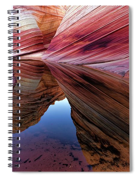 A Moment To Reflect Spiral Notebook
