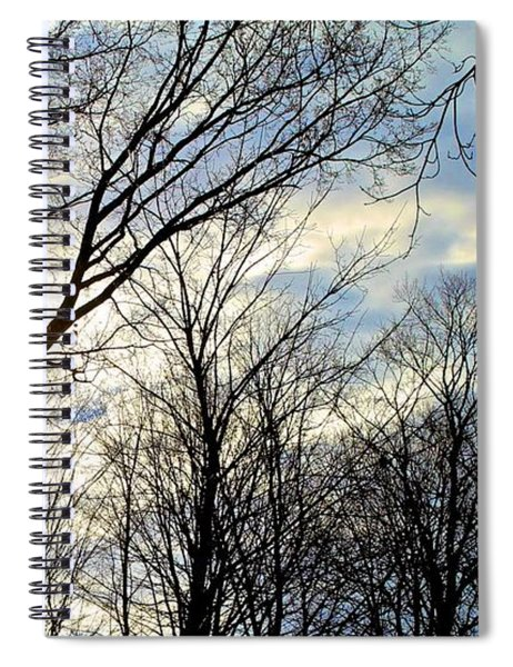 A Morning Sun Spiral Notebook