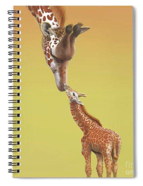 A Mother's Love Spiral Notebook