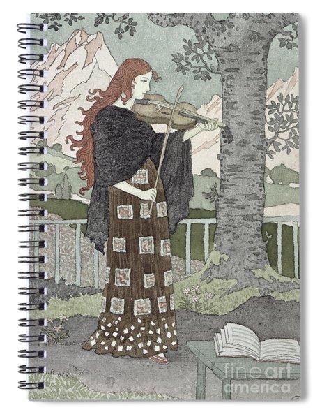 A Musician Spiral Notebook