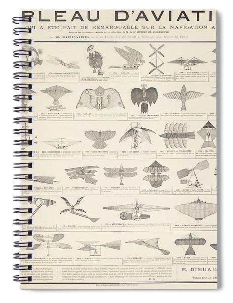 A Navigation Table Spiral Notebook