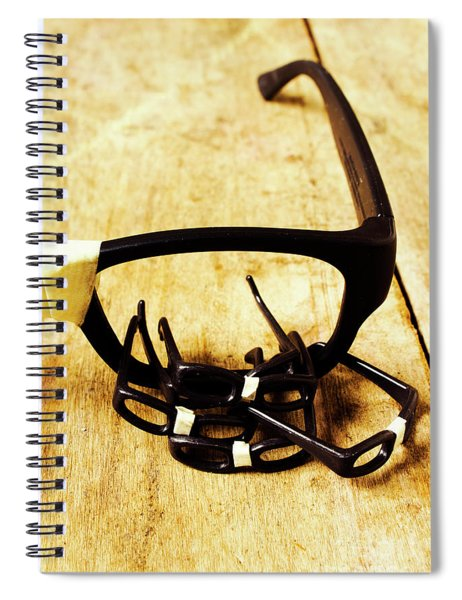 A Nerdy Spectacle Spiral Notebook