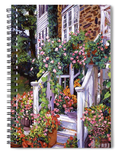 A New England Visit Spiral Notebook