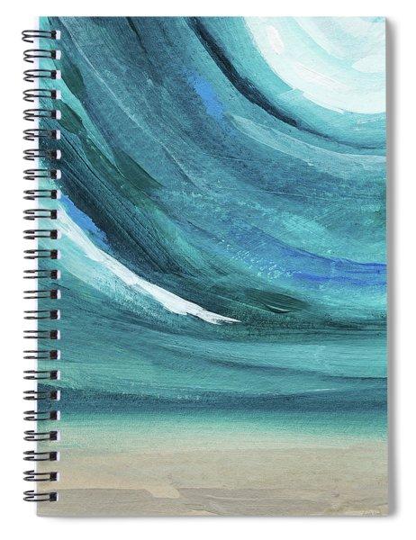 A New Start- Art By Linda Woods Spiral Notebook