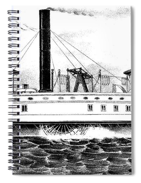 A New York Ferry Boat Spiral Notebook