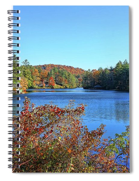 A North Carolina Autumn Spiral Notebook