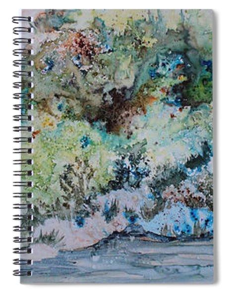 A Northern Shoreline Spiral Notebook