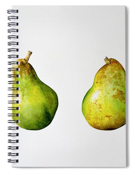 A Pair Of Pears Spiral Notebook