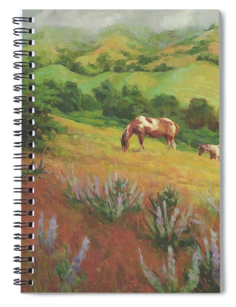 A Peaceful Nibble Spiral Notebook