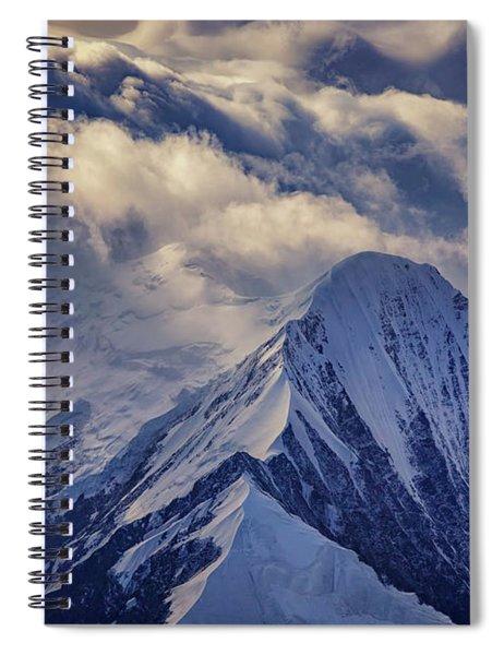 A Peak In The Clouds Spiral Notebook