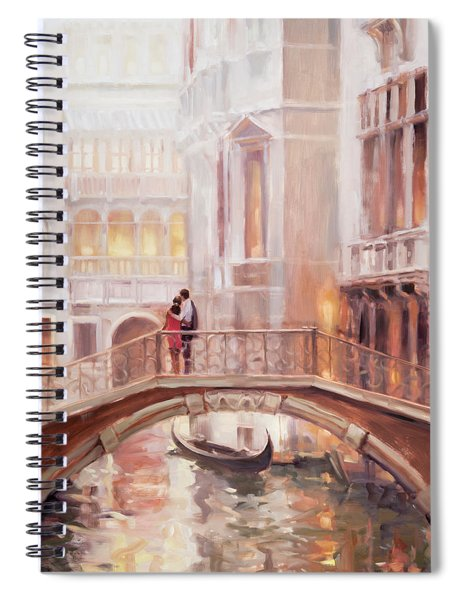 A Perfect Afternoon In Venice Spiral Notebook