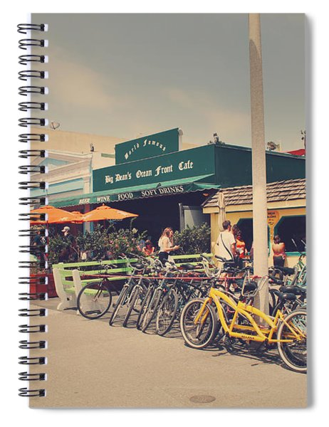 A Perfect Day For A Ride Spiral Notebook