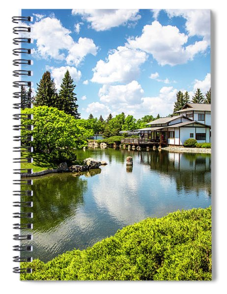 A Perfect Day In The Garden Spiral Notebook