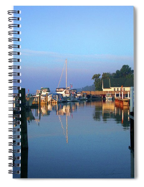 A Perfect Tawas Morning Spiral Notebook
