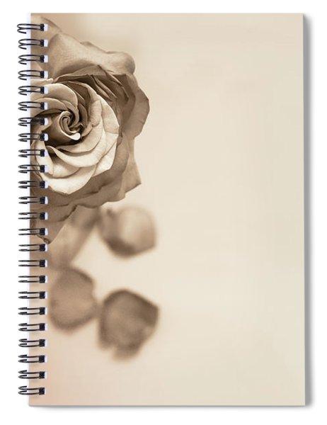 A Petal Falls Spiral Notebook