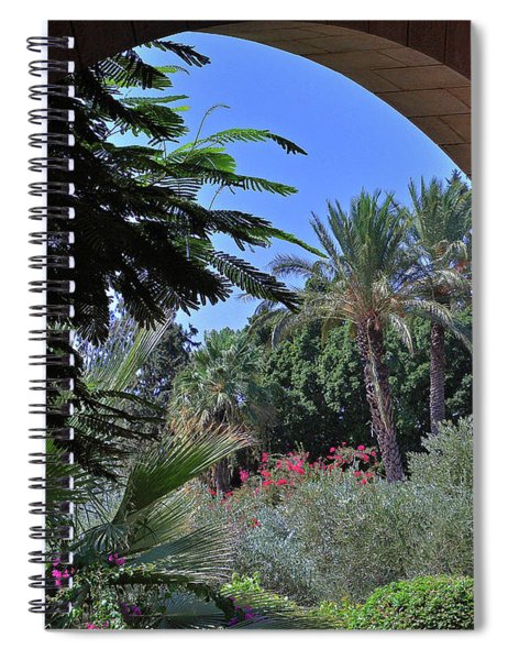 A Piece Of The Mount Of Beatitudes Spiral Notebook