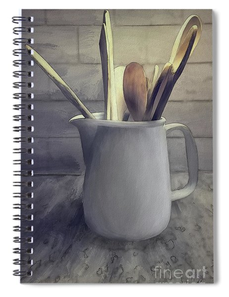 A Pitcher Of Spoons Spiral Notebook