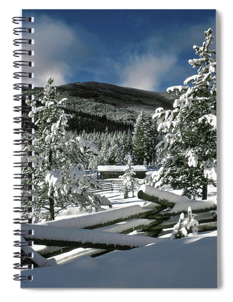 A Place In The Winter Sun Spiral Notebook