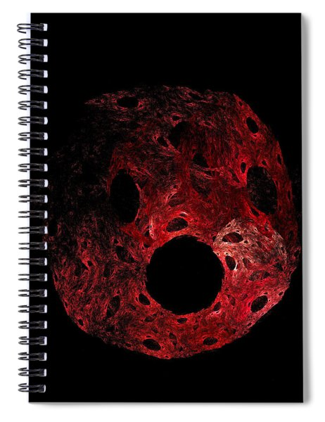 A Portrait Of Oh Spiral Notebook